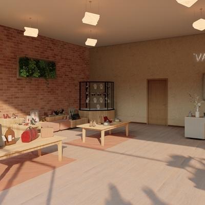 Proyecto diseño de tienda Vanity