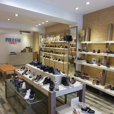 Proyecto de Actividad y Reforma de Local Comercial, tienda de calzado FRESH SHOES en Valencia