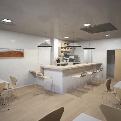 Proyecto, Dirección de Obra y Diseño de Cafetería