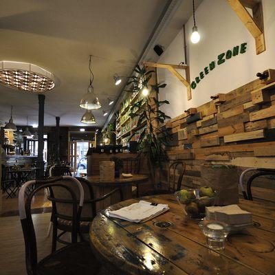 Interiorismo Cafetería Tuteate en Madrid