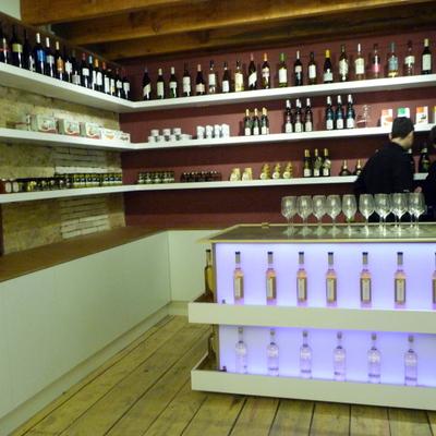 2010 Proyecto de interiorismo Vinoteca · Galería de arte