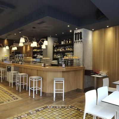 Interiorismo en Salamanca, cafetería Baviera