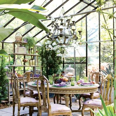 Ideas de terraza y jard n para inspirarte habitissimo for Invernadero en casa