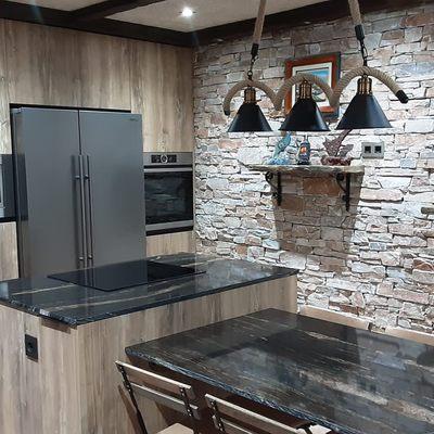 Cocina RÚSTICA en Urbanización Galera Media, 12006 Castellón de la Plana