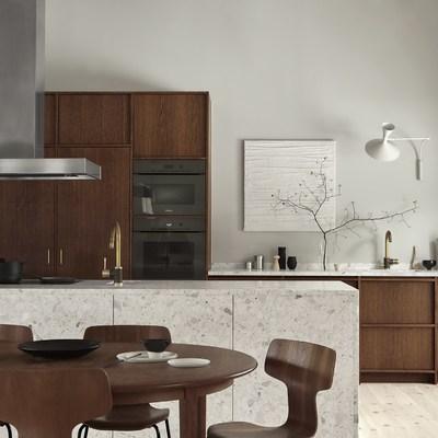 Una cocina rústica y minimalista para enamorarse