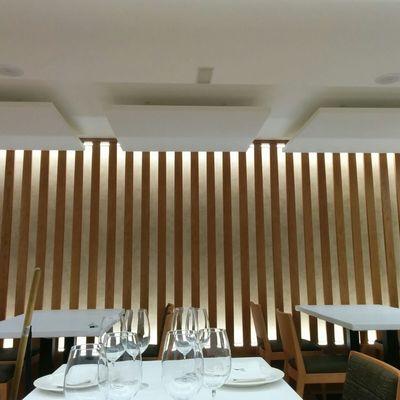 Acondicionamiento acústico en Restaurante Terra Nosa