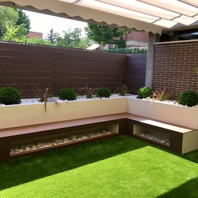 Diseño de un pequeño jardín familiar