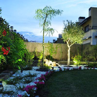 Jardín de floración continua