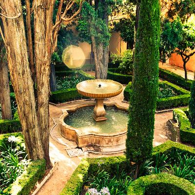 Jardín de la Alhambra (Granada)