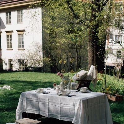 Jardín de la vivienda