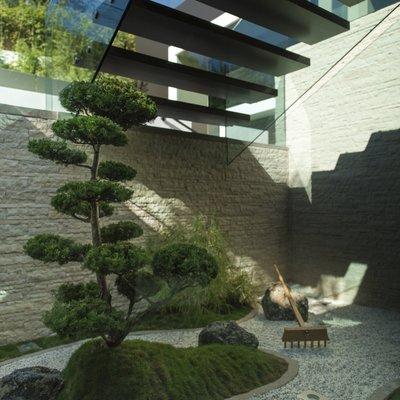 Ideas y fotos de escaleras modernas para inspirarte for Jardines zen valladolid