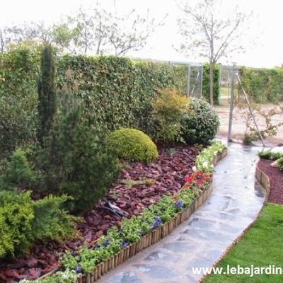 Jardín particular en Madrid