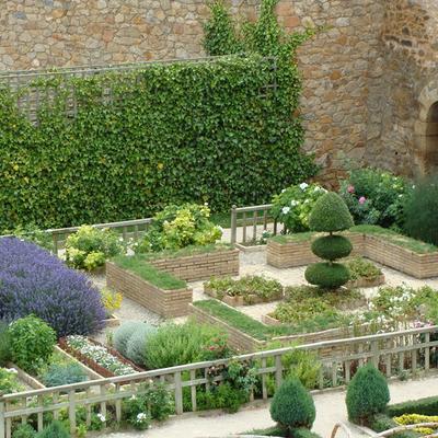 Jardín renacentista del Palacio de los Castejón (Ágreda)