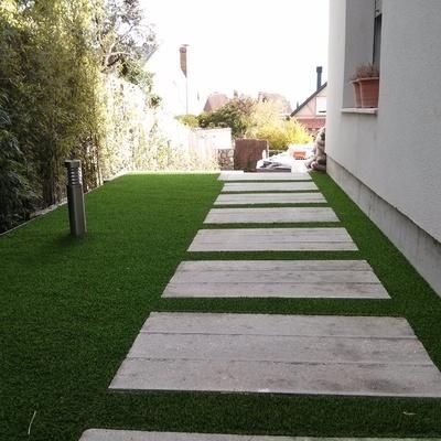 Renovación Jardín con césped artificial
