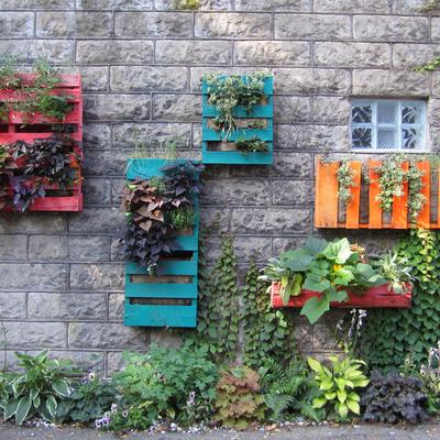 Jardines verticales: disfruta de espacios verdes originales