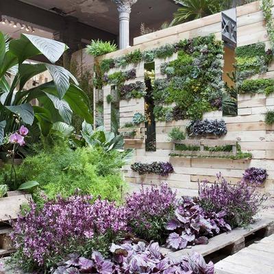 Ideas y fotos de jardines verticales para inspirarte Jardines verticales baratos