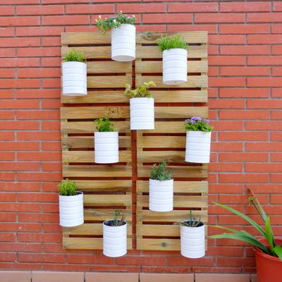Pasos para construir una jardinera vertical