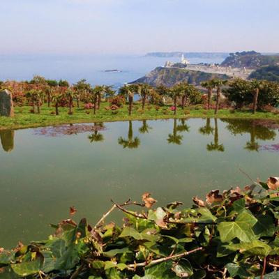 Jardines de la Fonte Baixa (El Chano, Luarca)