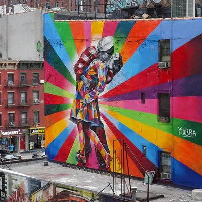 Edificios transformados en auténticas obras de arte urbano