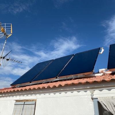 Instalacion de Paneles Termo Solares