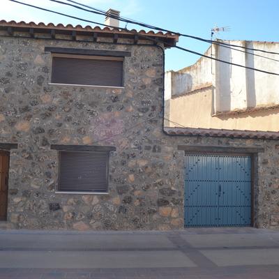 La casa de las portadas azules