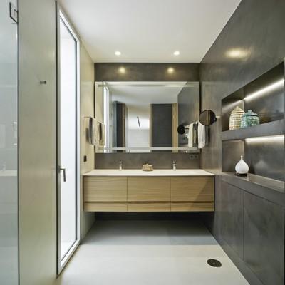 La luz y el baño