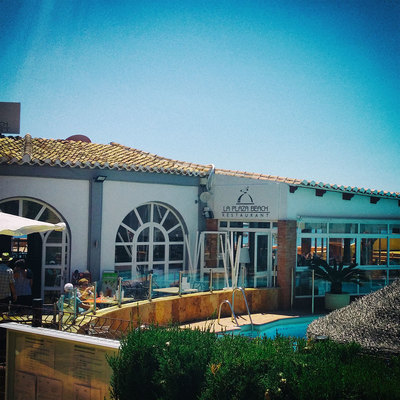 restaurante La Plaza Beach