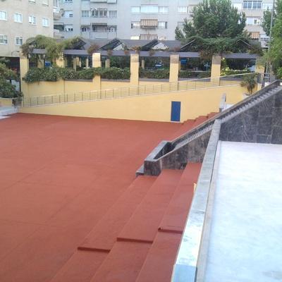 Plaza Santa Maria Badajoz