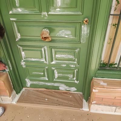 Restauración de puerta