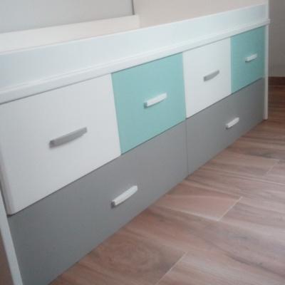 Pintura decorativa de muebles