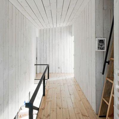 Tira a tablero y reviste tus paredes con madera