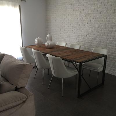 ladrillos individuales blancos para texturizar paredes interiores