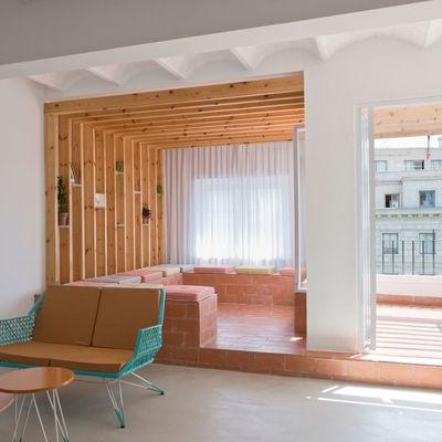 Cómo integrar las lamas de madera en tu casa