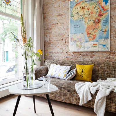 Da la vuelta al mundo sin salir de casa: decora con mapas