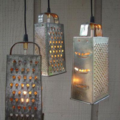 lampara-rayador-diy-reciclado