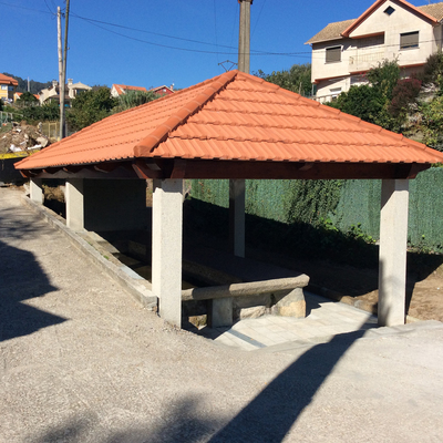 Rehabilitación lavaderos en Moaña (Pontevedra)