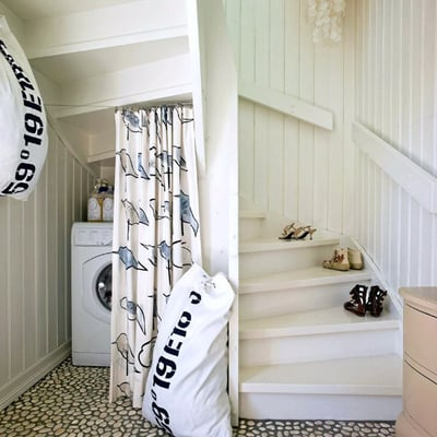lavadora hueco escalera