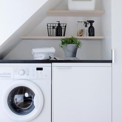 lavandería hueco escalera