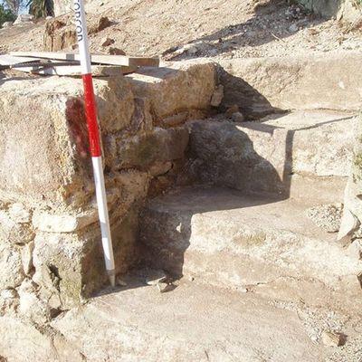 Levantamiento taquimétrico del Castillo de Santa Cruz A Guarda  en Pontevedra