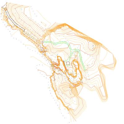 Levantamiento topográfico de Cetáreas (viveroa de marisco) en Quejo (Isla, Arnuero)