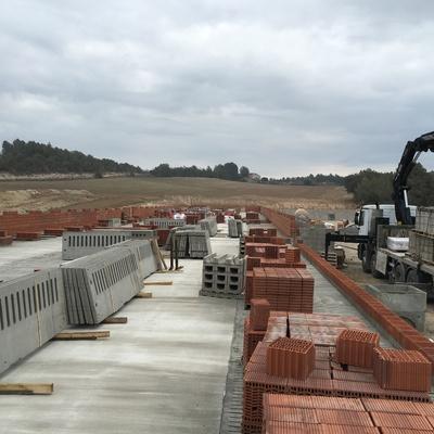Construcción granja obra nueva, Barcelona