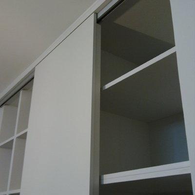 Librería/Armario Lacado Blanco