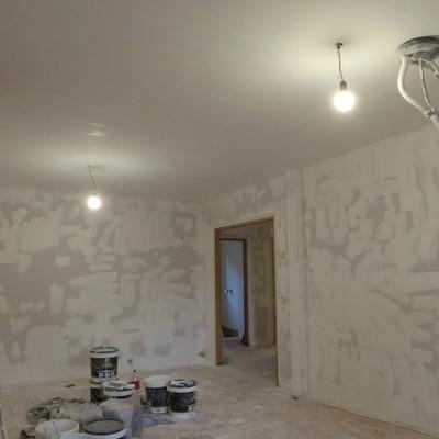 pintura en el salon