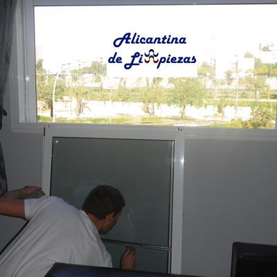 Limpiezas en Alicante de Cristales y Ventanas.