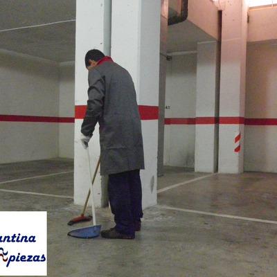 Limpieza en Alicante Provincia de garajes.