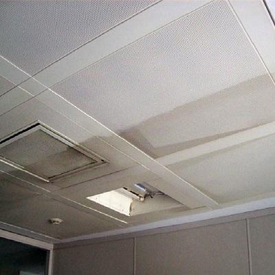 Limpieza de placas acústicas