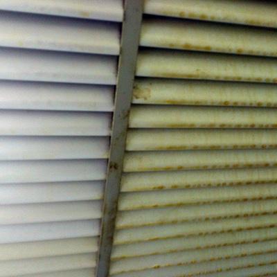 Limpieza de rejillas de ventilación
