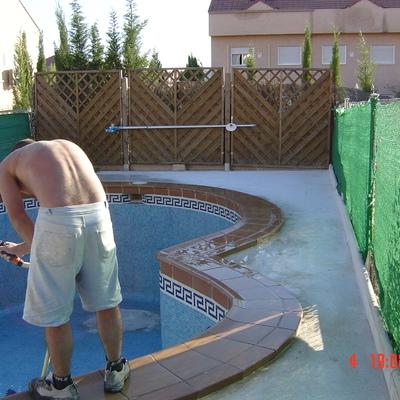 Reforma de piscina