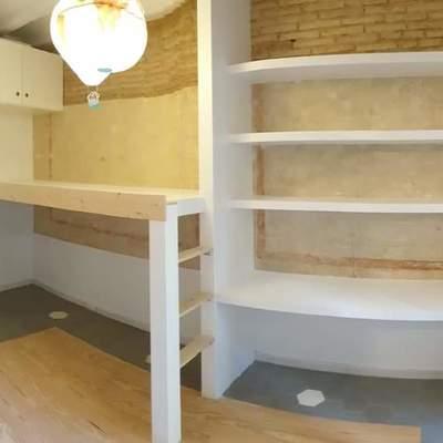 Creacion de litera y mueble con estantes