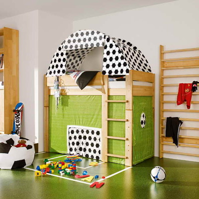 17 Dormitorios con los que soñarán niños y no tan niños